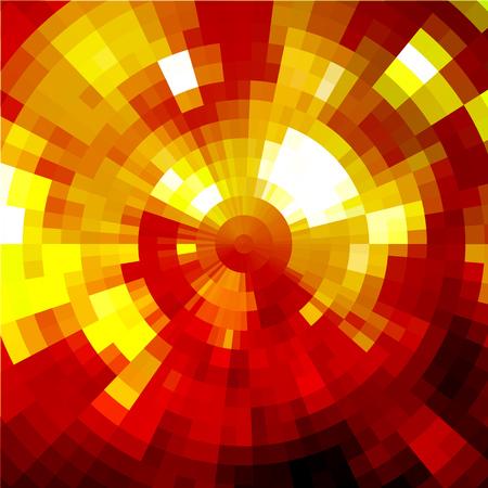 style geometric: Vector glitter background in disco style. Mosaic geometric pattern