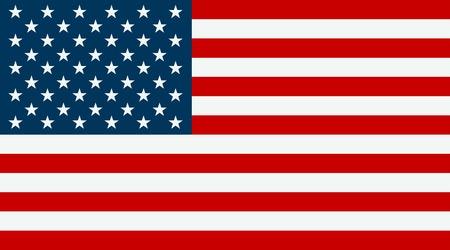 Bandera de los Estados Unidos. Bandera de EE.UU. símbolo americano