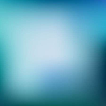focus: Vector illustration of blue  soft colored abstract background. Summer light background