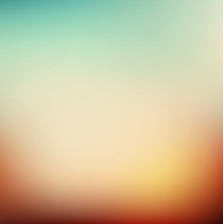 retro backgrounds: Vector illustration of soft colored abstract background. Summer light background