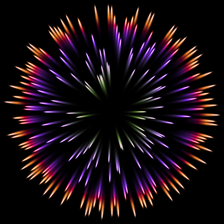 light burst: Vector color design with a burst. Holiday fireworks