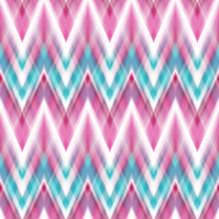 patten: Vector seamless ikat ethnic pattern. Boho design. Ethnic Colored seamless zigzag patten