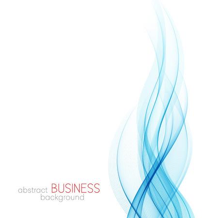 lines vector: Abstract vector background, blue transparent waved lines for brochure, website, flyer design.  Blue smoke wave. Blue wavy background
