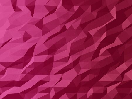 triangular banner: Abstract template design with colorful geometric triangular background for brochure, web sites, leaflet, flyer. Low poly banner Stock Photo