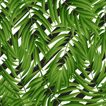 abstract tree: Tropical Palm leaves. Tropic palm. Tropical Palm leaf. palm summer tropical leaves. Tropic leaves frame.summer tropic palm leaves. Geometric pattern. Illustration