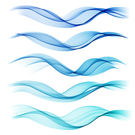 lines vector: Set abstract color wave. Color smoke wave. Transparent wave. Abstract smooth wave vector. Blue wave. Wave blue. Smoke blue wave. Vector blue wave. Blue wave lines. Vector lines. Abstract lines. Lines Illustration