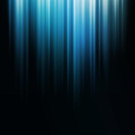 Abbildung Abstrakter dunkler Hintergrund mit glänzenden Lichtlinien