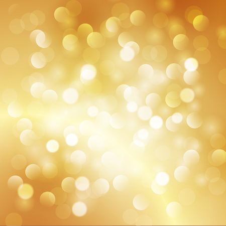 christmas gold: Christmas abstract gold background with bokeh light