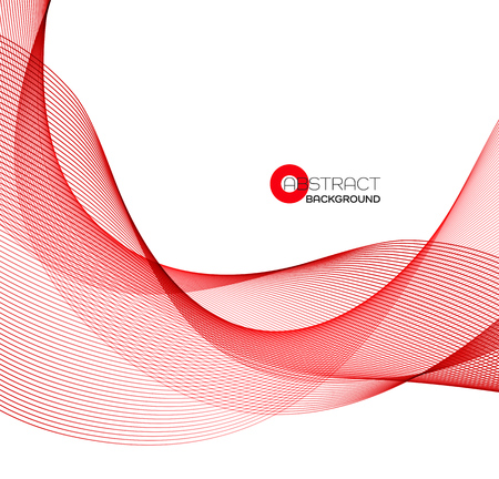 Abstrakte Farbe Welle Design-Element