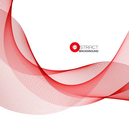 Resumen de color de elemento de diseño de onda Foto de archivo - 69482132