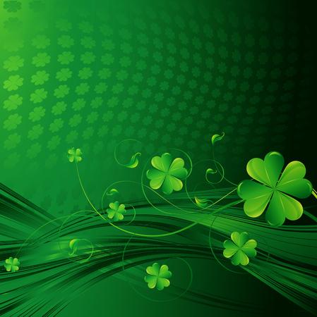 St Patricks dni tle Ilustracje wektorowe