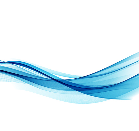 blue wave: Abstract vector background, blue wavy