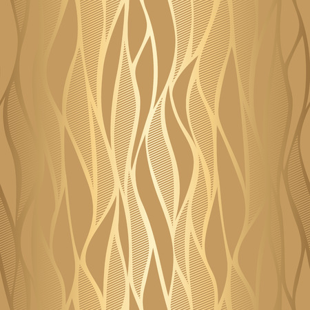 Luxury golden wave wallpaper