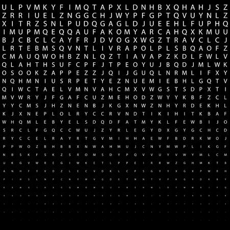 추상 기하학 흑백 데코 아트 인쇄 하프 톤 패턴 문자