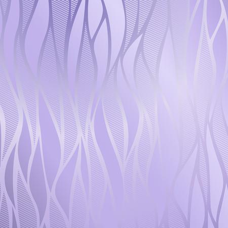 Vector vintage violet gold card with seamless damask pattern EPS 10
