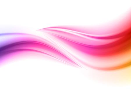 Fondo variopinto astratto di vettore, onda liquida di flusso di colore per brochure di design, sito Web, flyer. Flusso di fluido. Colori acrilici Vettoriali