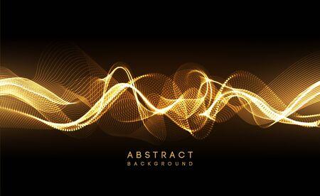 Hi-tech futuristic techno background, neon shapes and dots. Technology connection, big data, dotted structure Vektoros illusztráció