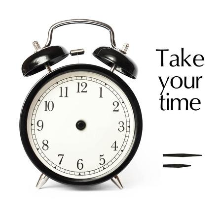 unbound: Optional time alarm clock