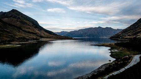 wakatipu: lake Wakatipu Stock Photo