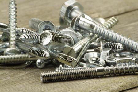 screw: Screw in closeup