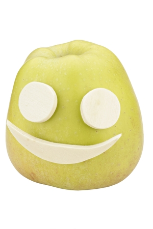 mimicry: Apple smiley