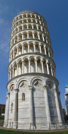 The square of Miracles in Pisa, Tuscany, Italy