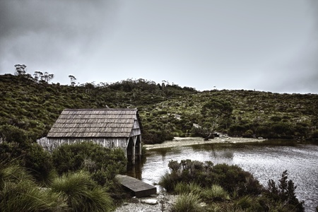 Tasmanian Boatshed Stock Photo - 14085446