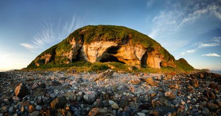 King's Caves near Blackwaterfoot, Isle of Arran, Scotland