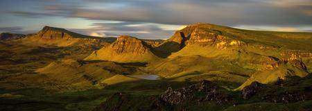 Trotternish Ridge in morning light, Isle of Skye, Scotland