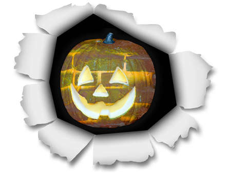 A nice image of a halloween pumpkin.