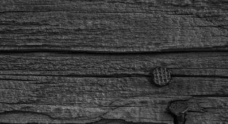 Hintergrund abstraktes Bild von Holz und Nägel. Standard-Bild - 11006695