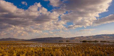Image of Washoe Lake Nevada. Standard-Bild