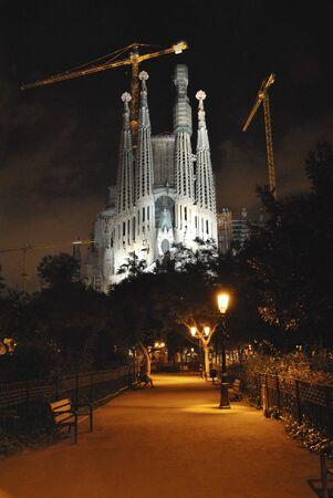 sagrada familia: Church Sagrada Familia in Barcelona