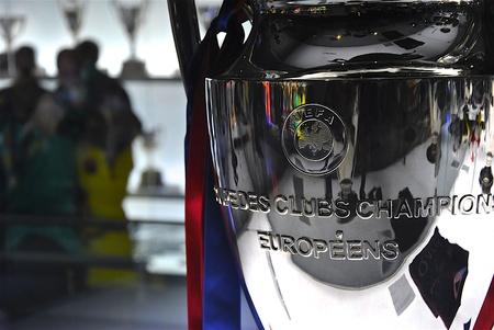 Trofeo para el ganador de la Champions