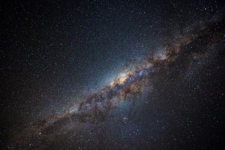 galaxie: Offensichtlich Milchstraße in Australiens Outback gefunden Lizenzfreie Bilder