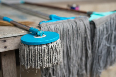 mops: Outdoor use mops Stock Photo