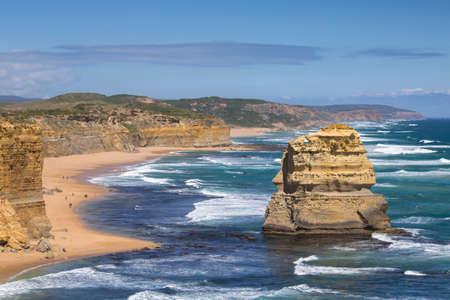 Landscape view of the Twelve Apostles, Victoria,Australia.