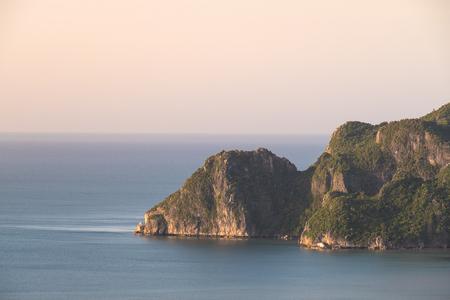 Public attractions Khao Daeng Viewpoint in Khao Sam Roi Yot National Park Prachuap Khiri Khan, Thailand