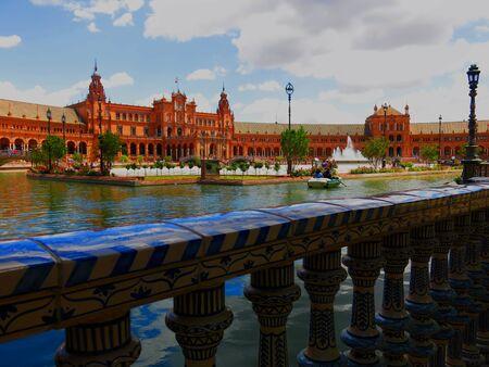 sevilla: A look at some architecture in Sevilla Stock Photo