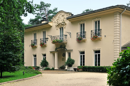 Luxury country hotel Kronon in Grodno, Belarus.