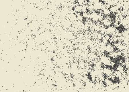 Vektor-Schmutz-Textur für Hintergrund. Nachahmung von Blasen und Schaum.