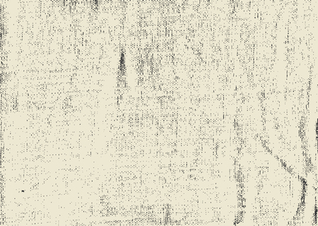 Vector grunge texture for background. Imitation of canvas, fabric.  イラスト・ベクター素材