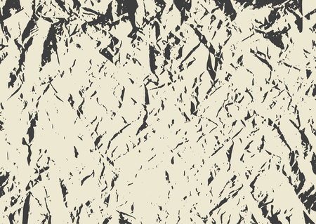 Vector grunge texture for background. Imitation of crumpled paper. Illustration