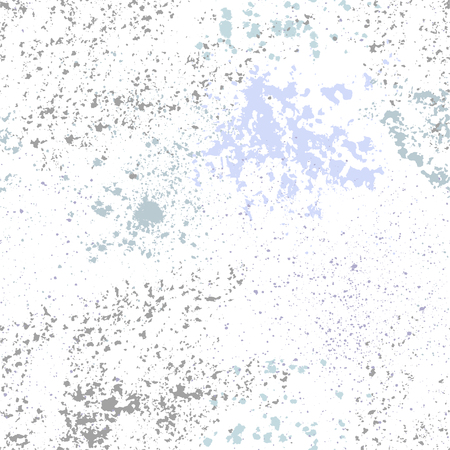 Vector grunge seamless blue texture on white background.