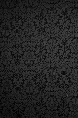 gothic revival: Seamless Gothic Damask wallpaper background