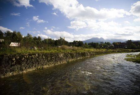 stream though the Tatra Mountains Stock Photo - 5736147