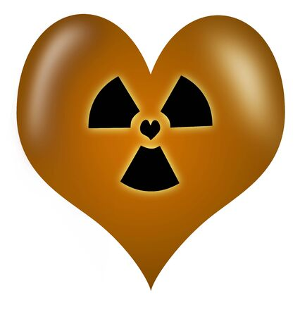 fondness: Toxic Love heart made as a vector
