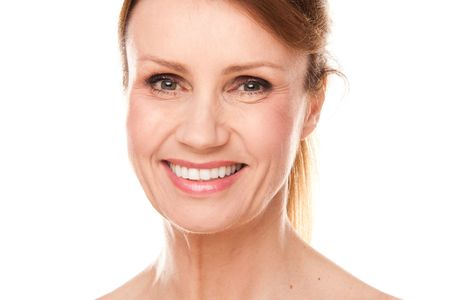 beautiful middle-aged woman photo