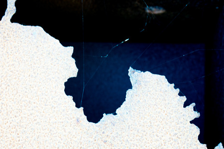 absorbed: Dual artistic abstract background with dark blue ink absorbed by white texture forming a huge spot, close-up