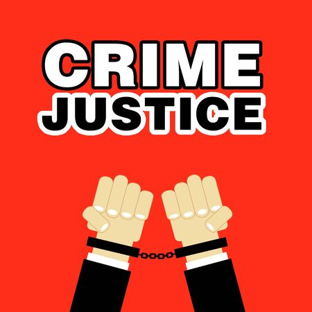 captive: crime justice hands with handcuffs